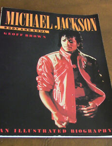 Michael Jackson Body and Soul, Illustrated Biography, 1984 Kitchener / Waterloo Kitchener Area image 1
