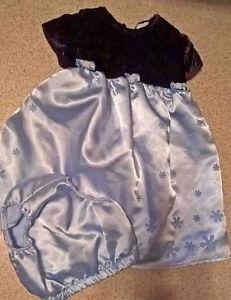 24 months 2 piece holiday dress