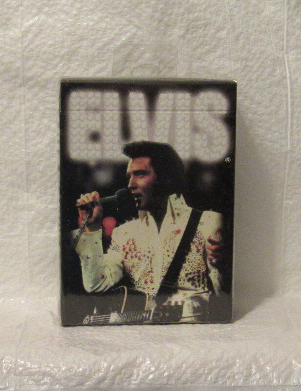 Elvis Presly Bicycle Brand Factory Sealed Regulation Picture Playing Cards