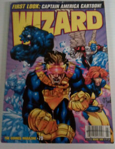 5 Issues of WIZARD Magazine from late 90s