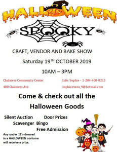 Halloween Spooky Spiders Craft, Vendor & Bake Show