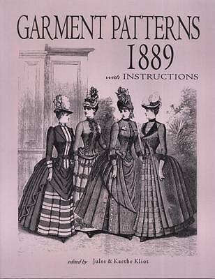 Garment Patterns 1889 with Instructions excellent Vintage 60 Plus Patterns