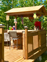 Decking Patio Party Bars custom made