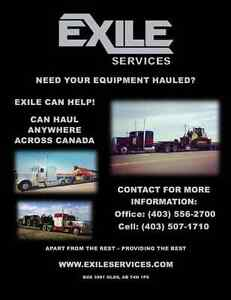 Agricultural & Industrial Equipment Hauling Across Canada
