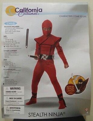 California Costumes Stealth Ninja Child Costume Size Large Plus 10-12