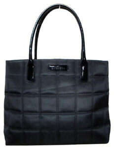 Givenchy - Black Quilted Nylon Tote, Excellent Condition $10.00