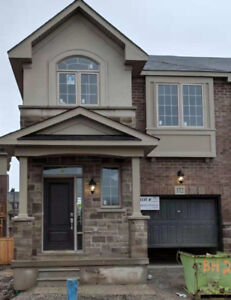 brand new townhouse at Dundas/8th Line lots of upgrated