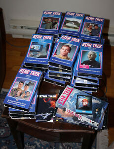 Star Trek VHS collection