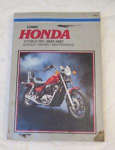 Honda VT 700 750 83-87 Repair Manual $405