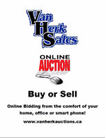 WEEKLY ONLINE AUCTION!