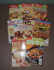 BETTER HOMES AND GARDEN SOFT COVER COOK BOOKS