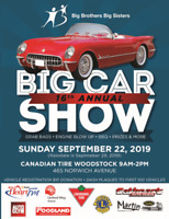 Big Car Show for Big Brothers Big Sisters of Oxford County