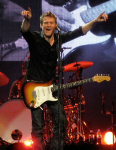 GREAT BRYAN ADAMS FRONT FLOOR TICKETS - ONLY 6 ROWS FROM STAGE !