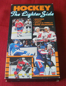 7--Great NHL videos on VHS