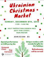 Ukrainian Christmas Market and Concert