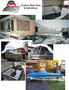 boat tops/covers and upholstery