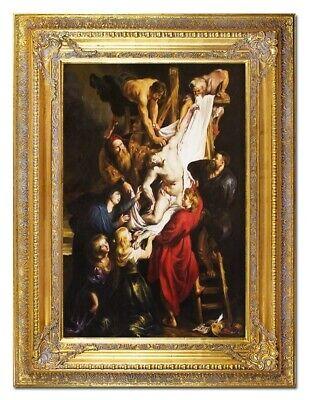 tus Handarbeit Ölbild Bild Ölbilder Rahmen Bilder G02472 (Religiöses Kunsthandwerk)