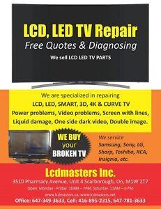 TORONTO LCD LED TV REPAIR, SMART TV REPAIR, TV SCREEN REPAIR