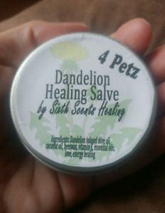 Dandelion Healing Salve for your pets (( also human friendly ))