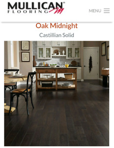 DARK OAK HARD WOOD FLOORING $4/ SQUARE FOOT