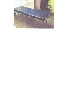 table de massothérapie portable