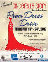 8th ANNUAL PROM DRESS DRIVE