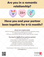 Early Relationships Over Time Study ( LOOKING FOR PARTICIPANTS )