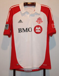 94f962f34 ADIDAS AUTHENTIC 2012-13 TORONTO FC AWAY SOCCER JERSEY MEN S L
