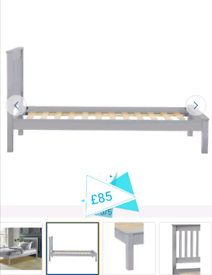 Aspley single Bed frame only £85. Real Bargains Clearance Outlet Leice