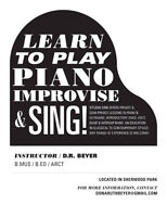 Piano and Voice Lessons -All ages