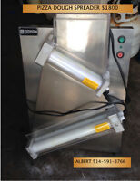 Pizza Sheeter, Ovens, Tables.  Quality Used Equipment
