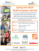 Spring into Work Multi-Employer Job Fair