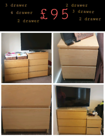 Sets of drawers