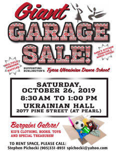 Giant Community Garage Sale (Vendors Wanted)