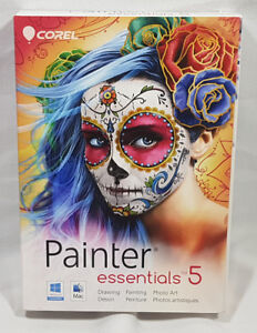 Corel Painter Essentials 5 Windows Mac Drawing Painting Photo Ar