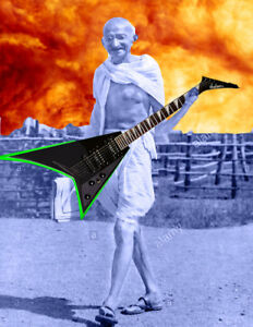 SICK JACKSON RHOADS FLYING V GUITAR YO!