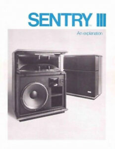 RESEARCH FOR PURCHASE speakers ELECTRO VOICE SENTRY III