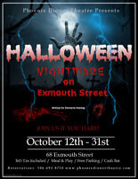"Phoenix Dinner Theatre Presents ""Nightmare on Exmouth Street"""