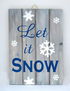 Let it Snow Sign St. John's Newfoundland image 1