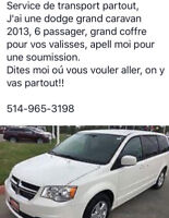 Service de Transport aeroport ou partout Quebec / Ride to YUL