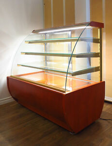 Refrigerated Pastry Case | Wood Finish | Igloo JMRW4