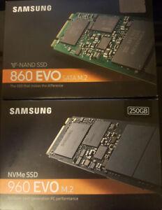 """New open box SSDs 250GB, 256GB, 500GB, 1TB M.2 2.5"""""""