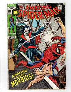 The Amazing Spider-Man #101 Comic - First Appearance of Morbius!