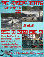 Learn to Whitewater Kayak