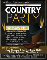 Country Hootenanny - Showcase & Dance