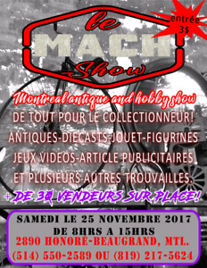 Le mach show montreal