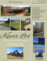 Kmax Ltd; Asphalt Sealing, Landscaping, Line Painting