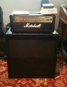 Marshall 100 MG FXHD with 4x12 cabinet