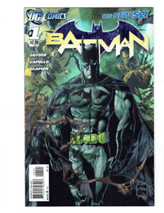 Batman #1 - New 52! Ethan Van Sciver 1:25 Variant Rare Snyder