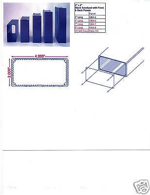 Aluminum Project Box Enclosure 2x4x7 Model Gk4-7